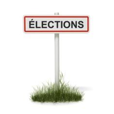 panneau élections
